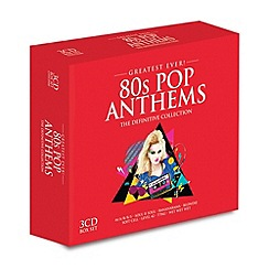 CD - Various Artists - Eighties Pop Anthems