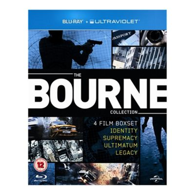 Blu-Ray Bourne Collection (With UV) - . -