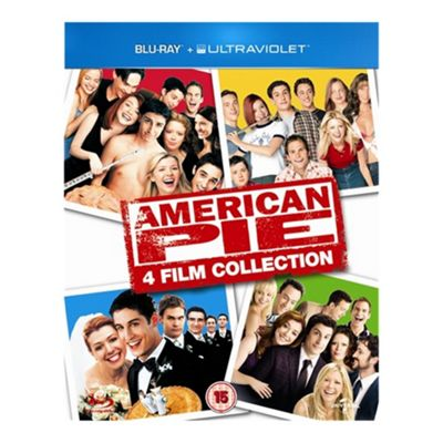 Blu-Ray American Pie - 4 Film Collection (With UV) - . -