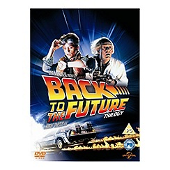 DVD - Back To The Future Trilogy (With UV)
