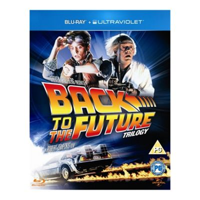 Blu-Ray Back To The Future Trilogy (With UV) - . -