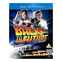 Blu-Ray - Back To The Future Trilogy (With UV)