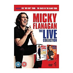 DVD - Micky Flanagan   Live Collection 1 & 2 DVD