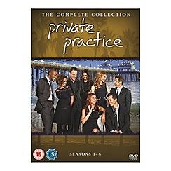 DVD - Private Practice - Seasons 1-6 DVD