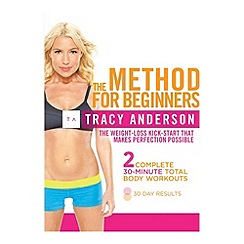 DVD - Tracy Anderson The Method For Beginners DVD