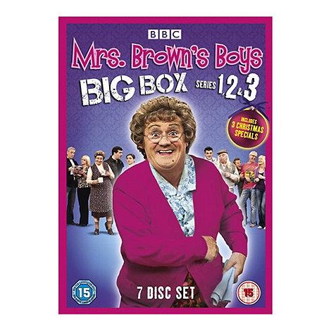 DVD - Mrs Brown+s Boys Big Box (Series 1-3)