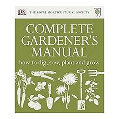 Debenhams - RHS Complete Gardener's Manual