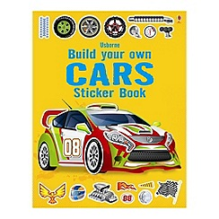 Debenhams - Build Your Own Cars With Stickers