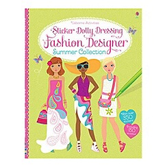 Debenhams - Sticker Dolly Dressing Fashion Designer Summer Collection