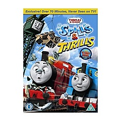 DVD - Thomas And Friends   Spills And Thrills DVD