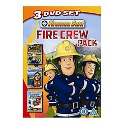 DVD - Fireman Sam   Fire Crew Pack DVD