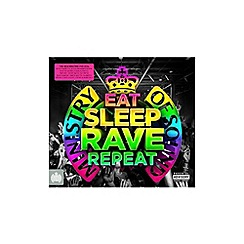 CD - Eat Sleep Rave Repeat   Various Artists CD