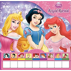 Disney Princess - Royal Recital Piano Book