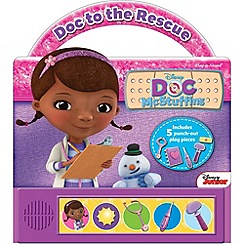 Doc McStuffins - Doc To The Rescue Little Handle Book