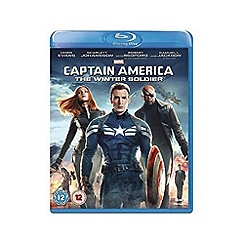 Blu-Ray - Marvel's Captain America: The Winter Soldier Blu Ray