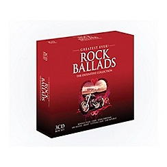 CD - Greatest Ever Rock Ballads   Various Artists CD