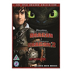 Blu-Ray - How To Train Your Dragon/How To Train Your Dragon 2 (UV) Blu Ray Blu Ray