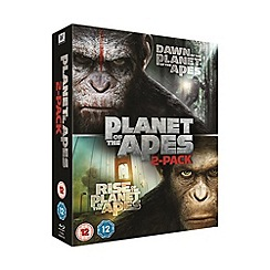 Blu-Ray - Dawn Of The Planet Of The Apes/Rise Of The Planet Of The Apes Blu Ray