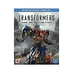 Blu-Ray - Transformers: Age Of Extinction (3D+2D) Blu Ray