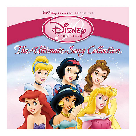 CD - Various Artists - Disney Princess (The Ultimate Song Collection)