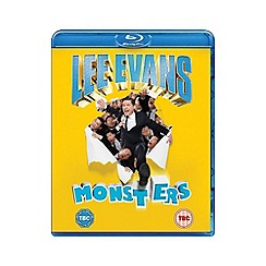 Blu-Ray - Lee Evans   Monsters Live Blu Ray
