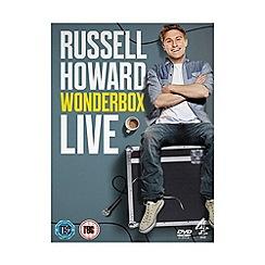 DVD - Russell Howard   Wonderbox Live DVD