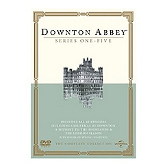 DVD - Downton Abbey   Series 1 5/Christmas (2011)/Journey To The Highlands (2012)/London Season (2013) DVD