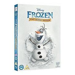 DVD - Disney Frozen [Sing along Edition] DVD