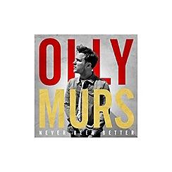 CD - Never Been Better   Olly Murs CD