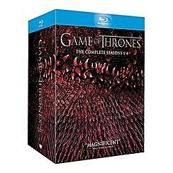 Blu-Ray - Game Of Thrones   Seasons 1 4 Blu Ray