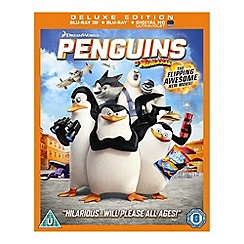 Blu-Ray - Penguins Of Madagascar 3D (UV) Blu Ray