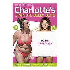 DVD - Charlotte Crosbys 3 Minute Belly Blitz DVD