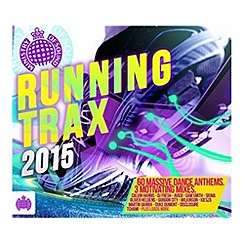 CD - Running Trax 2015   Various Artists CD