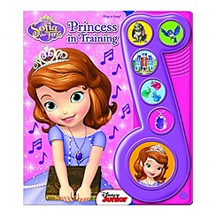 Debenhams - Sofia The First Princess In Training (Sound book)