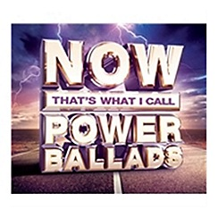 Blu-Ray - Now That's What I Call Power Ballads   Various Artists CD