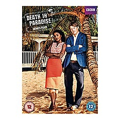 DVD - Death In Paradise   Complete Series 4 DVD