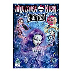 DVD - Monster High: Haunted (inc. GWP)   (including GWP) DVD