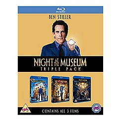 Blu-Ray - Night At The Museum 1 3 Blu Ray