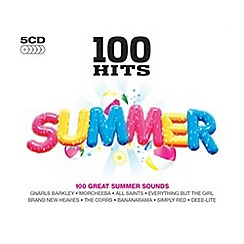 CD - 100 Hits Summer   Various Artists CD