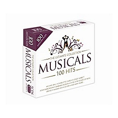 CD - 100 Hits   Musicals   Various Artists CD