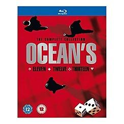 Blu-Ray - Ocean's Eleven/Ocean's Twelve/Ocean's Thirteen