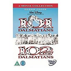 DVD - 101 Dalmatians / 102 Dalmatians