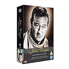 DVD - John Wayne Collection   Legend Of The Lost/The Big Trail/The Comancheros/North To Alaska DVD DVD