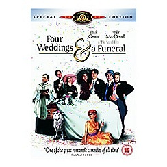DVD - Four Weddings And A Funeral DVD