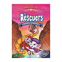 DVD - Rescuers Down Under DVD