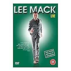 DVD - Lee Mack   Live DVD