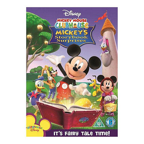 DVD - Mickey Mouse Club House - Storybook Surprises