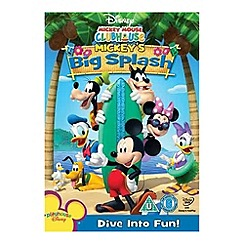 DVD - Mickey Mouse Clubhouse - Big Splash