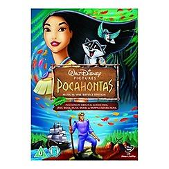 DVD - Disney Pocahontas DVD