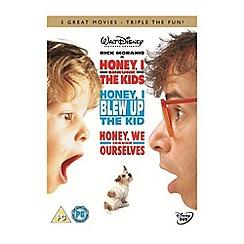 DVD - Honey, I Shrunk The Kids / Honey, I Blew Up The Kid / Honey, We Shrunk Ourselves DVD